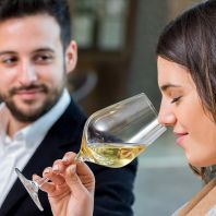 "The ""Become a sommelier"" class"