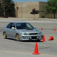 Adrenalinová jízda v Subaru
