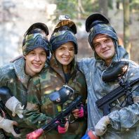 Gruppen-Paintball