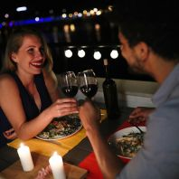 Wine tasting and a romantic dinner for two